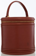 Luxury Accessories:Bags, Louis Vuitton Fawn Epi Leather Cannes Top Handle Bag. ...