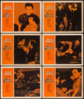 "Movie Posters:Elvis Presley, King Creole (Paramount, 1958). Lobby Cards (6) (11"" X 14""). ElvisPresley.. ... (Total: 6 Items)"