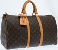 Luxury Accessories:Bags, Louis Vuitton Classic Monogram Canvas Keepall 45 Weekender Bag. ...