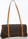 Luxury Accessories:Bags, Louis Vuitton Classic Monogram Canvas Marelle MM Pochette Bag. ...