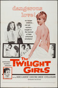 """Movie Posters:Foreign, The Twilight Girls (Sirius, 1957). One Sheet (27"""" X 41""""). Foreign.. ..."""