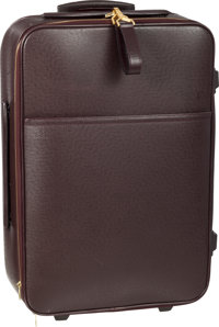 """Louis Vuitton Brown Taiga Leather Pegase Suitcase Very Good Condition 14.5"""" Width x 22"""" Height"""
