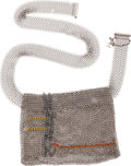 "Luxury Accessories:Bags, Chanel Silver Chain Mail Waist Bag. Excellent Condition.7"" Width x 4.5"" Height, 33"" Waist. ..."