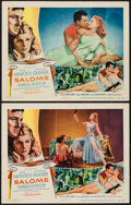 "Movie Posters:Drama, Salome (Columbia, 1953). Lobby Cards (2) (11"" X 14""). Drama.. ... (Total: 2 Items)"