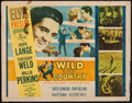 "Movie Posters:Elvis Presley, Wild in the Country (20th Century Fox, 1961). Half Sheet (22"" X28""). Elvis Presley.. ..."