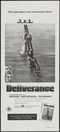 """Movie Posters:Action, Deliverance (Warner Brothers, R-1970s). Australian Daybill (13.5"""" X 30""""). Action.. ..."""