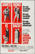 """Movie Posters:James Bond, From Russia with Love (United Artists, 1964). One Sheet (27"""" X 41"""") Style B. James Bond.. ..."""