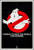 """Ghostbusters (Columbia, 1984). One Sheet (27"""" X 41"""") """"Coming to Save the World This Summer"""" Style Te..."""