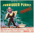 "Movie Posters:Science Fiction, Forbidden Planet (MGM, 1956). Six Sheet (78"" X 80.5"").. ..."