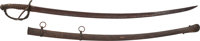 Very Fine, Nicely Marked, Brass Scabbard, Thomas Griswold & Co., New Orleans, Confederate Cavalry Officer's Saber Id...