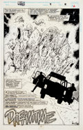 Original Comic Art:Splash Pages, Jim Calafiore and Rey Garcia Force Works #9 Page 2 OriginalArt (Marvel, 1995)....