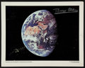 Miscellaneous Collectibles:General, Buzz Aldrin Signed Oversized Photograph....