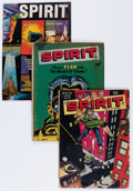 Golden Age (1938-1955):Crime, The Spirit Group (Quality/Fiction House/Harvey, 1945-67) Condition: Average GD.... (Total: 8 Comic Books)