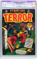 Golden Age (1938-1955):Horror, Startling Terror Tales #10 (Star Publications, 1952) CGC ApparentVF- 7.5 Slight (C-1) Off-white to white pages....