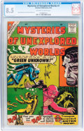 Silver Age (1956-1969):Horror, Mysteries of Unexplored Worlds #1 (Charlton, 1956) CGC VF+ 8.5 Off-white to white pages....