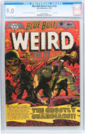 Golden Age (1938-1955):Horror, Blue Bolt #116 (Star Publications, 1952) CGC VF/NM 9.0 Off-white towhite pages....
