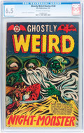 Golden Age (1938-1955):Horror, Ghostly Weird Stories #120 (Star Publications, 1953) CGC FN+ 6.5Off-white to white pages....