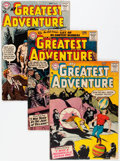 Silver Age (1956-1969):Adventure, My Greatest Adventure Group (DC, 1957-64) Condition: Average GD/VG.... (Total: 18 Comic Books)
