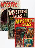 Silver Age (1956-1969):Horror, Atlas Silver Age Horror Comics Group (Atlas, 1957) Condition:Average GD.... (Total: 4 Comic Books)
