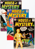 Silver Age (1956-1969):Horror, House of Mystery Group (DC, 1955-63) Condition: Average GD/VG....(Total: 29 Comic Books)