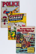 Golden Age (1938-1955):Miscellaneous, Comic Books - Assorted Golden and Silver Age Comics Group (Various Publishers, 1940s-'60s) Condition: Average VG.... (Total: 5 Comic Books)