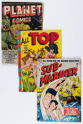 Golden Age (1938-1955):Miscellaneous, Comic Books - Assorted Golden Age Comics Group (Various Publishers, 1940s-'50s).... (Total: 22 Comic Books)