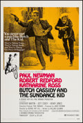 """Movie Posters:Western, Butch Cassidy and the Sundance Kid (20th Century Fox, 1969). One Sheet (27"""" X 41"""") Style B. Western.. ..."""