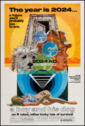 """Movie Posters:Science Fiction, A Boy and His Dog (Aquarius Releasing, 1975). One Sheet (27.25"""" X41""""). Science Fiction.. ..."""