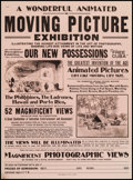 """Movie Posters:Miscellaneous, Sears Roebuck Film Exhibition Poster (c.1900s). Poster (20.25"""" X 27.5""""). Miscellaneous.. ..."""
