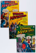 Golden Age (1938-1955):Science Fiction, Strange Adventures #11 and 13-16 Group (DC, 1951-52).... (Total: 5Comic Books)