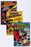 Golden Age (1938-1955):Science Fiction, Strange Adventures Group (DC, 1952-56) Condition: Average VG+....(Total: 14 Comic Books)
