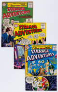 Silver Age (1956-1969):Science Fiction, Strange Adventures Group (DC, 1956-58) Condition: Average VG/FN.... (Total: 13 Comic Books)