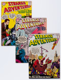 Silver Age (1956-1969):Science Fiction, Strange Adventures #86-99 Group (DC, 1957-58) Condition: AverageVG/FN.... (Total: 15 Comic Books)