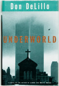 Books:Literature 1900-up, Don DeLillo. SIGNED. Underworld. New York: Scribner, [1997].First edition. Signed by the author. Publisher's bi...