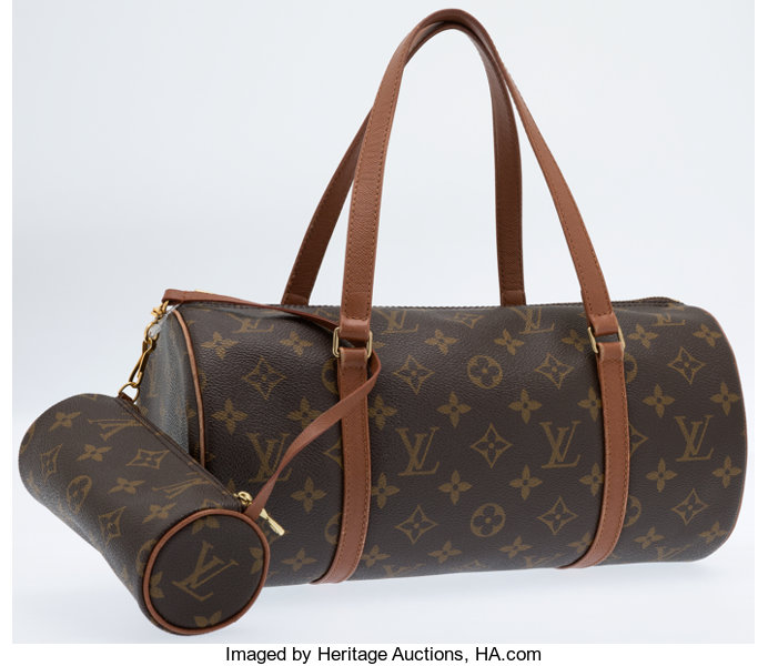 Louis Vuitton Classic Monogram Canvas Papillon 30 Bag.  25ecfc0b45e23