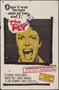 "Movie Posters:Science Fiction, The Fly (20th Century Fox, 1958). One Sheet (27"" X 41""). ScienceFiction.. ..."