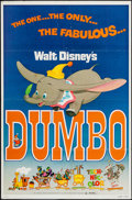 "Movie Posters:Animation, Dumbo & Other Lot (Buena Vista, R-1976). One Sheets (2) (27"" X 41""). Animation.. ... (Total: 2 Items)"