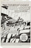Original Comic Art:Splash Pages, Don Perlin Ghost Rider #51 Splash Page 1 Original Art(Marvel, 1980)....
