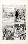 "Original Comic Art:Panel Pages, Norman Nodel Classics Illustrated #155 ""The Lion of theNorth"" Near Complete Story Original Art (Gilberton, 1960)....(Total: 39 Original Art)"