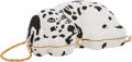 Luxury Accessories:Bags, Kathrine Baumann Limited Edition Full Bead Black & WhiteCrystal Dalmatian Dog Minaudiere Evening Bag, 7/500. Very Goodto...