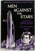 Books:Science Fiction & Fantasy, Martin Greenberg, editor. Men against the Stars. New York: Gnome Press, [1950]. Publisher's cloth and original dust ...