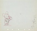 Animation Art:Production Drawing, Society Dog Show Mickey Mouse Production Drawing AnimationArt (Walt Disney, 1939)....