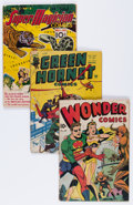 Golden Age (1938-1955):Miscellaneous, Comic Books - Assorted Golden Age Group (Various Publishers, 1940s) Condition: Average GD.... (Total: 16 Comic Books)