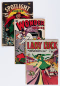 Golden Age (1938-1955):Miscellaneous, Comic Books - Assorted Golden Age Comics Group (Various Publishers, 1940s) Condition: Apparent GD.... (Total: 11 Comic Books)