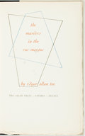 Books:Fine Press & Book Arts, Edgar Allen Poe. LIMITED. The Murders in the Rue Morgue.Antibes, France: The Allen Press, [1958]. Edition limited t...