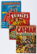 Golden Age (1938-1955):Miscellaneous, Comic Books - Assorted Golden Age Comics Group (Various Publishers, 1940s) Condition: FR.... (Total: 10 Comic Books)