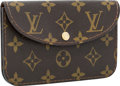 "Luxury Accessories:Bags, Louis Vuitton Classic Monogram Canvas Waist Bag. Excellent Condition. 6"" Width x 4"" Height x .5"" Depth. ..."