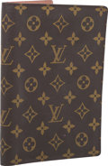 "Luxury Accessories:Accessories, Louis Vuitton Classic Monogram Canvas Agenda Cover. Fair to Good Condition. 6"" Width x 8.5"" Height x 1"" Depth. ..."