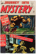 Silver Age (1956-1969):Horror, Journey Into Mystery #75 (Marvel, 1961) Condition: VG/FN....
