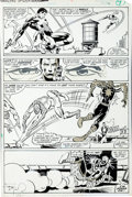 Original Comic Art:Panel Pages, Frank Miller and Klaus Janson Amazing Spider-Man Annual #15Page 7 Original Art (Marvel, 1981)....